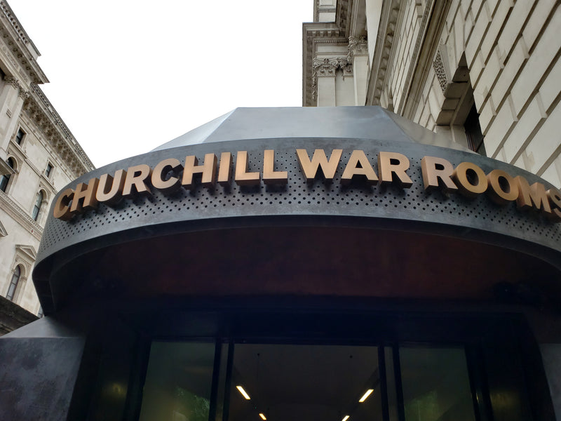 Bucket List Check #15 - Touring Churchill's War Rooms in London