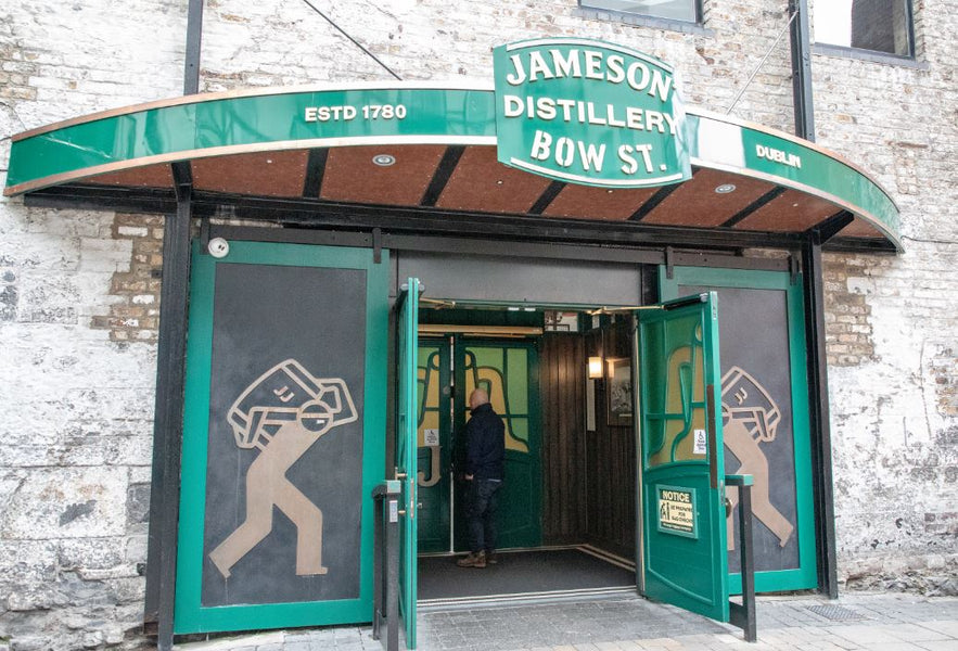 Bucket List Check #1 - Tour of Jameson Distillery in Dublin, Ireland