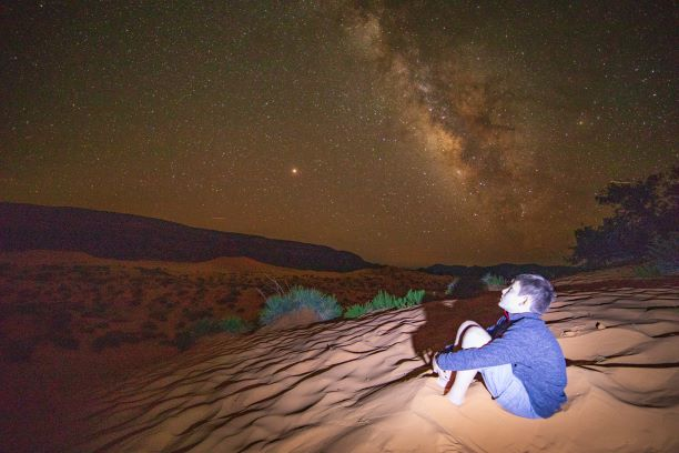 Bucket List Check #26 - Stargazing in a Sand Dune