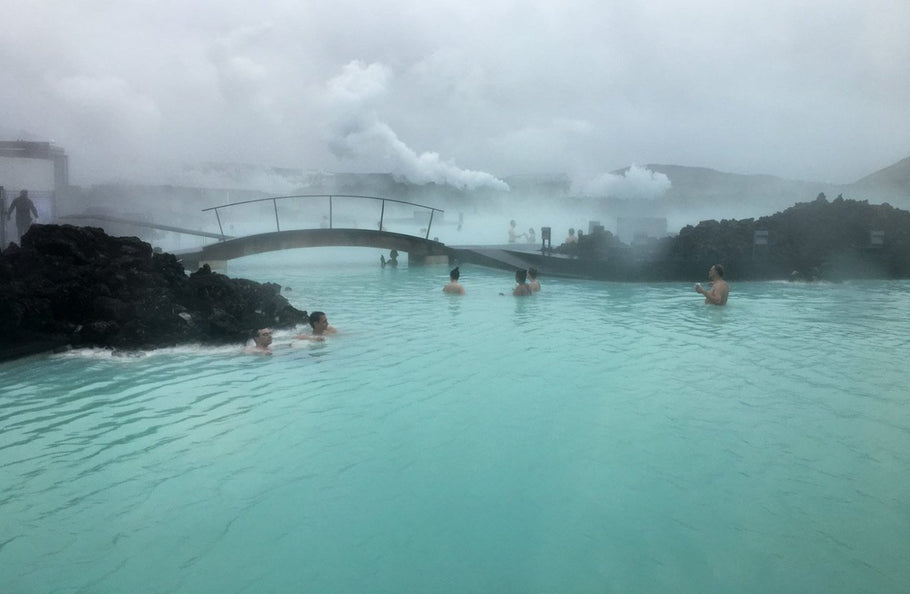 Bucket List Check #22 - Swimming In A Blizzard At Iceland's Blue Lagoon