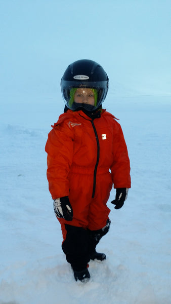 Ready for Snowmobiling in Iceland