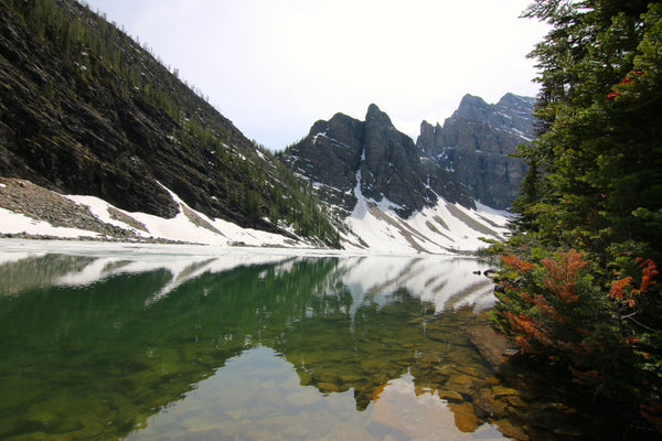 Crystal Clear Water in Lake Agnes