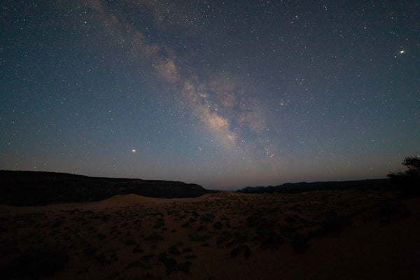 Found the Milky Way in Coral Pink Sand Dune State Park in Utah