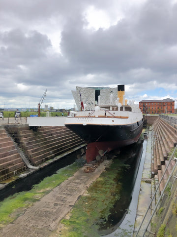 The Nomadic In Belfast Shipyard