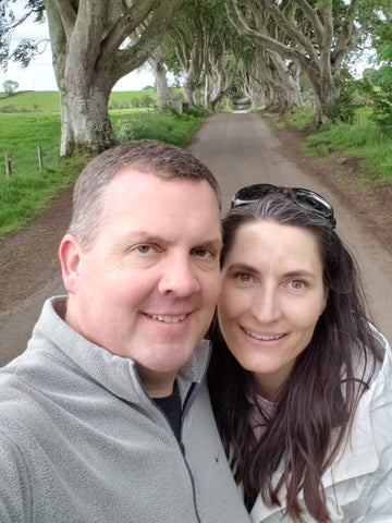 Mike and me at the Dark Hedges