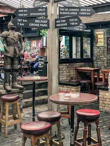 The Brazen Head Pub in Dublin