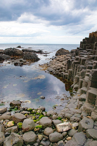 The Basalt Columns at Giants Causeway