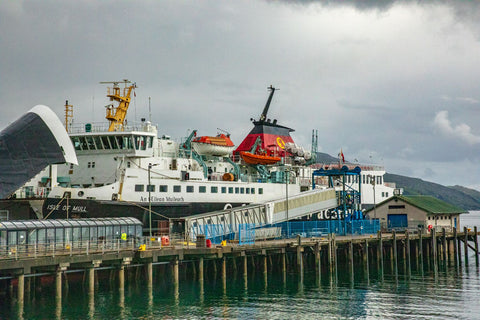 Caledonian Caledonian MacBrayne Ferry - Large Enough To Transport People and Cars