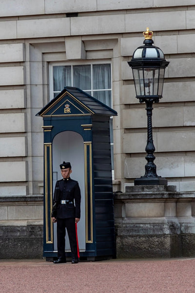 Royal Gurkha Rifle protecting Her Majesty the Queen