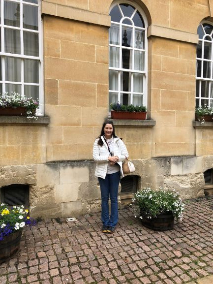 Me at Trinity College in Oxford University England