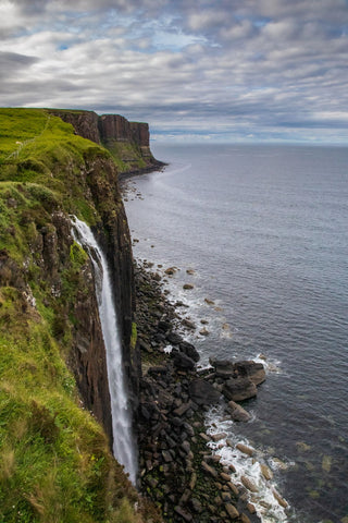 Mealtfalls or Kilt Rock in Isle of Skye Scotland
