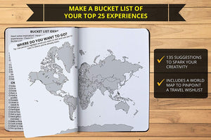 Ignited Life Bucket List Photo Journal