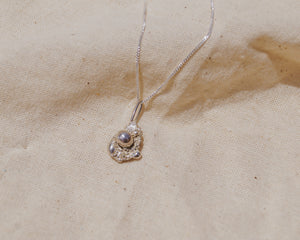 Medium Recycled Sterling Silver Necklace