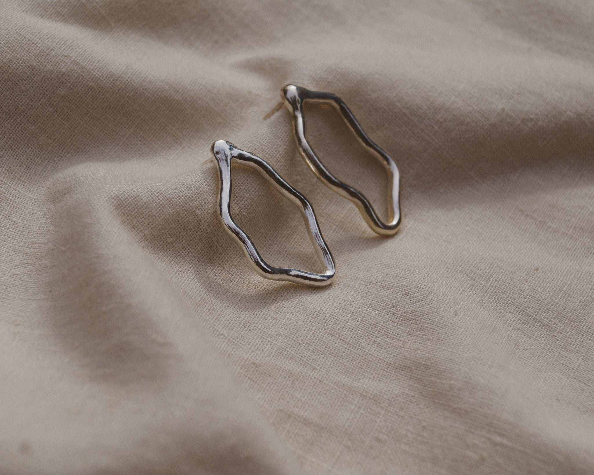 Currents Earrings Large
