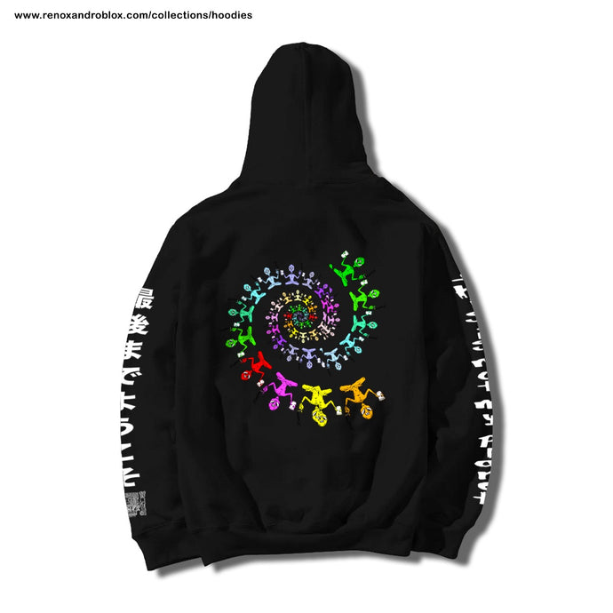 The Divine Proportion - Hoodie Negro