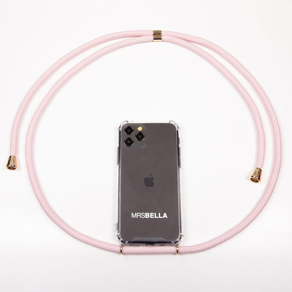 MrsBella Phone Necklace - Soft Nude