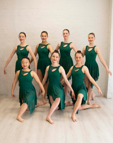 Dark Green Weisman Lyrical Costume Set