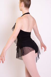 Black Capezio Ruffle Dress