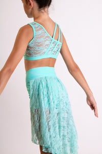 Mint green two piece