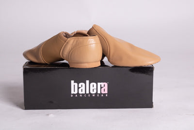 Balera Slip on Jazz Shoe Tan
