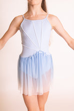 Load image into Gallery viewer, Blue and White Ombre Dress