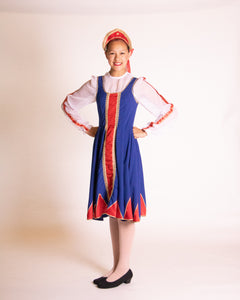 Russian National Character Dress