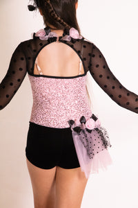 Pink and Black Jazz Dress
