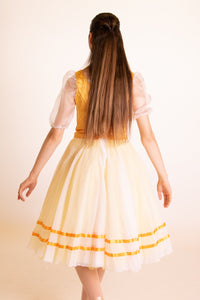 Yellow Peasant Costume
