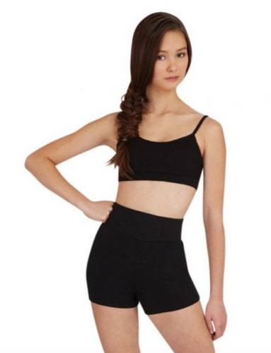 Capezio Studio Collection - High Waisted Shorts