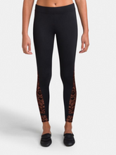 Load image into Gallery viewer, Rococo Riche Legging w/ Mesh Insert