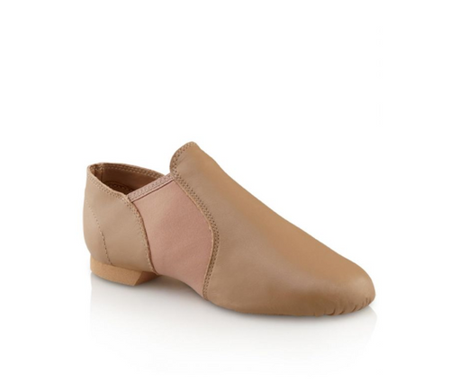 Capezio E-Series Jazz Slip On Tan