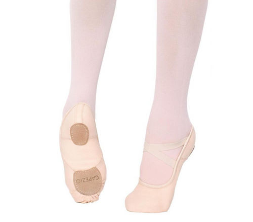 Capezio Hanami Leather Ballet Flats