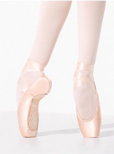 1138W Donatella Pointe Shoe with #2 Shank and Moderate Toe Box