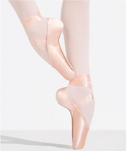1140W Kylee Pointe Shoe with #1 Shank and Moderate Toe Box