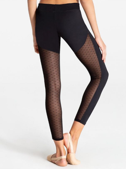 Swiss Dot Leggings