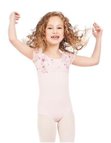 Shooting Star Puff Sleeve Leotard