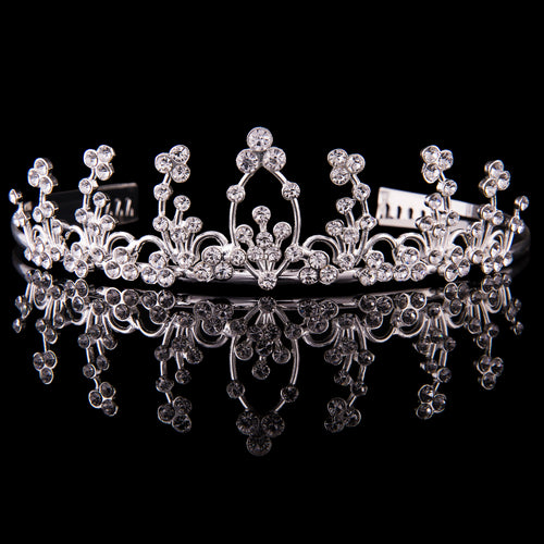 Large Diamante Tiara