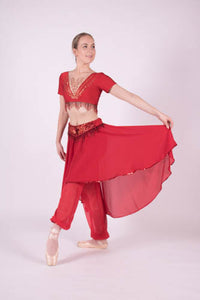 Stunning Red Demi Character Two Piece