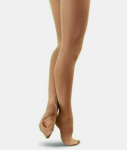 Balera Jazz Tights - Light Sun Tan