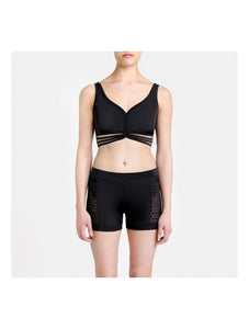 Capezio Vittoria High Waisted Shorts