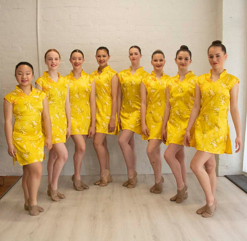 Yellow Oriental Costumes