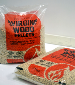 Wood Pellets 15KG Bag