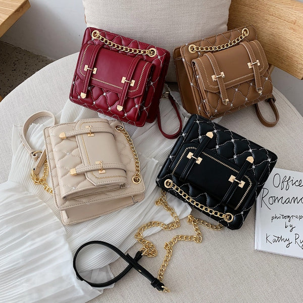 JI HAO Flap Bags For Women