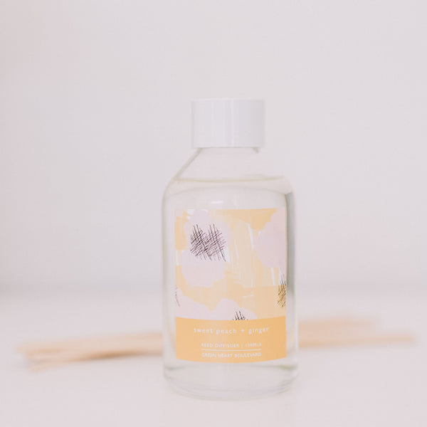 Sweet Peach + Ginger - Diffuser