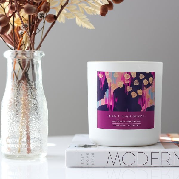 Plum + Forest Berries - Candle
