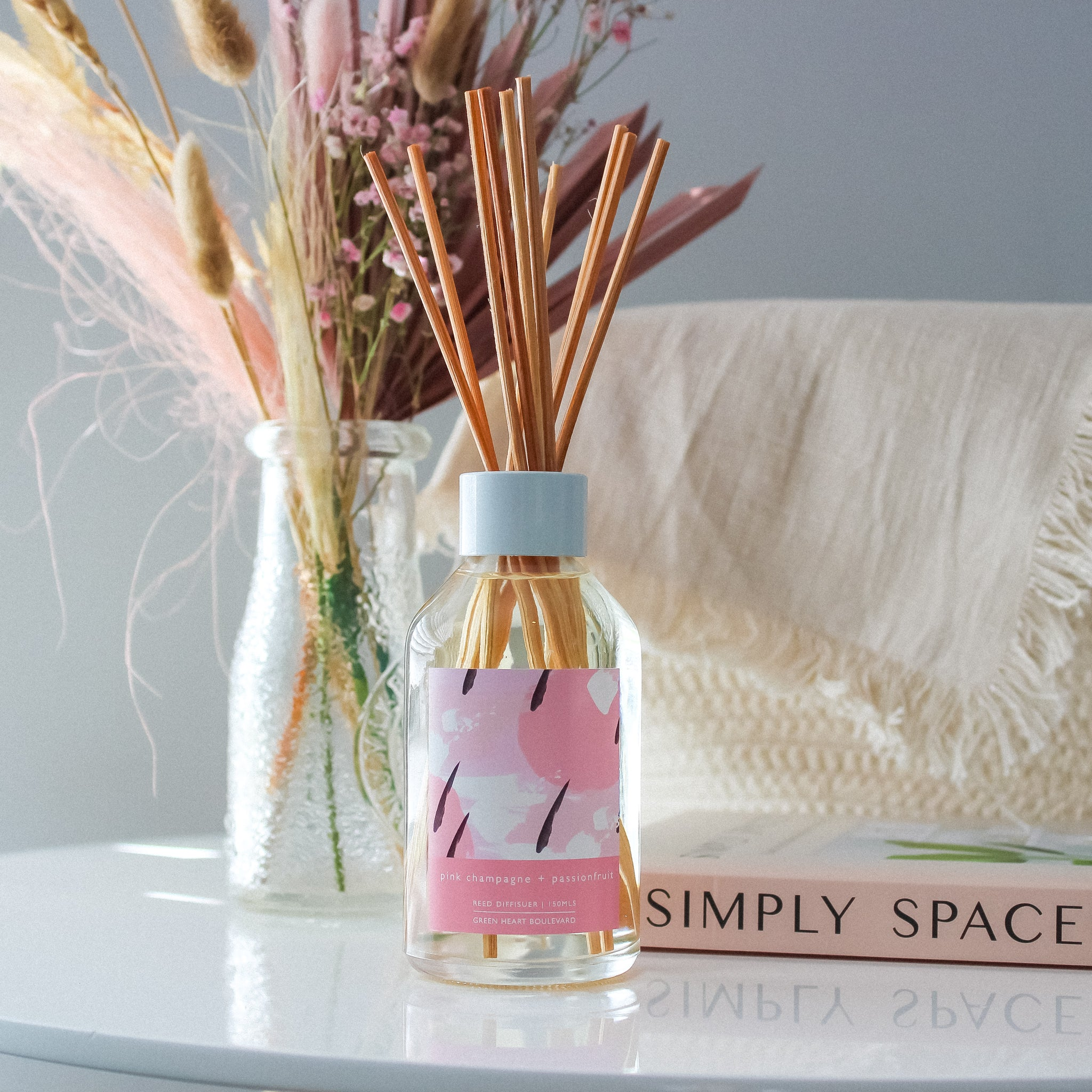 Pink Champagne + Passionfruit - Diffuser