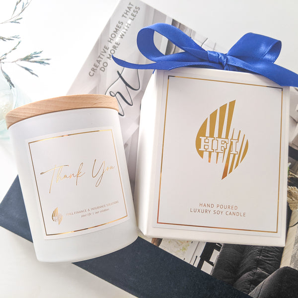 Corporate Candles - Branded Boxed Jars