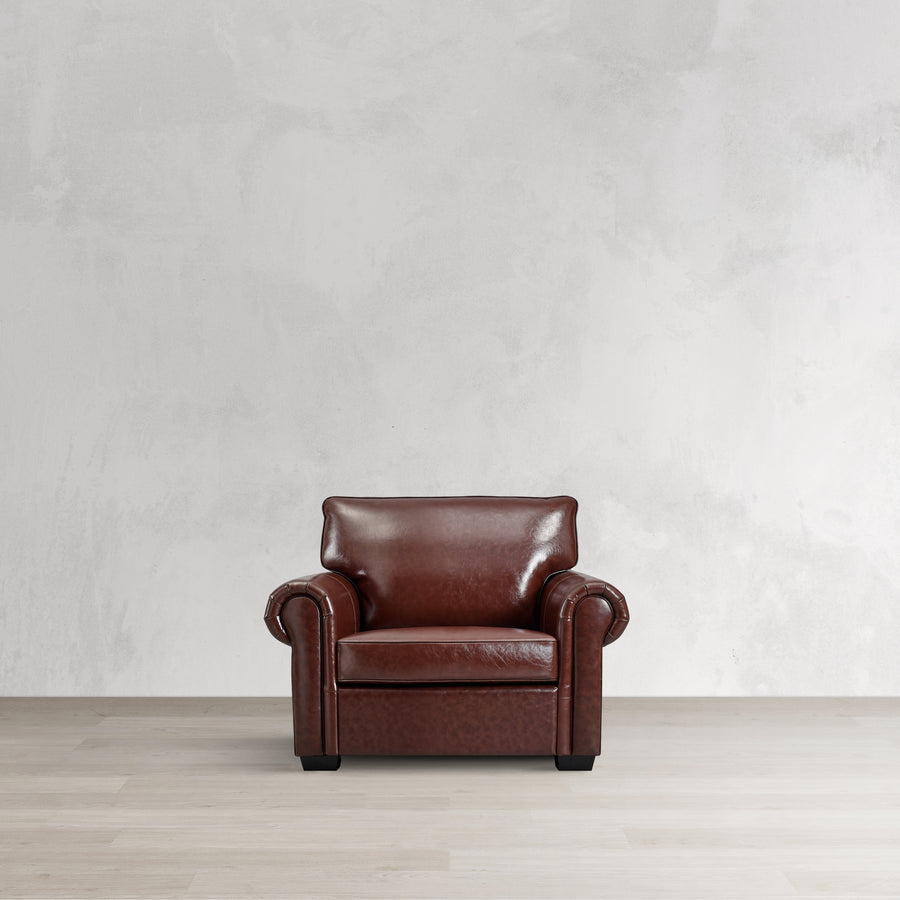 The Berkeley Chair in Leather
