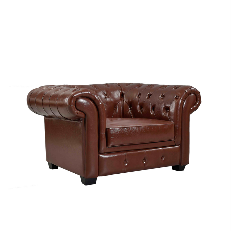 The Saybrook Chair in Leather