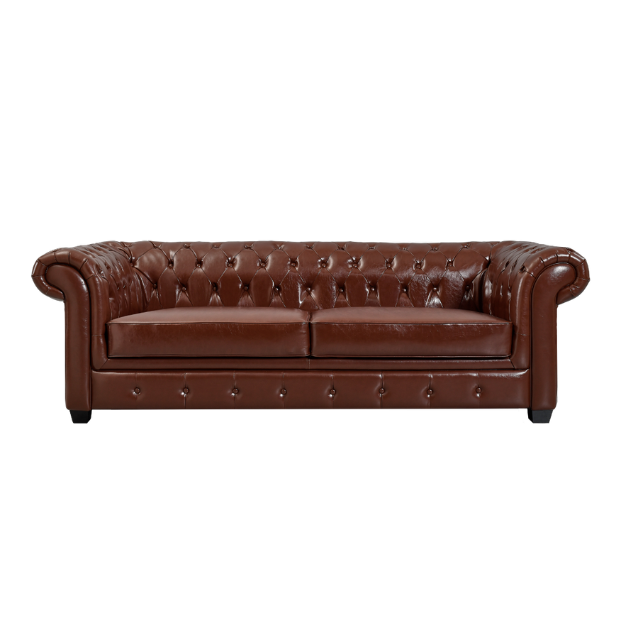 The Saybrook Sofa in Leather
